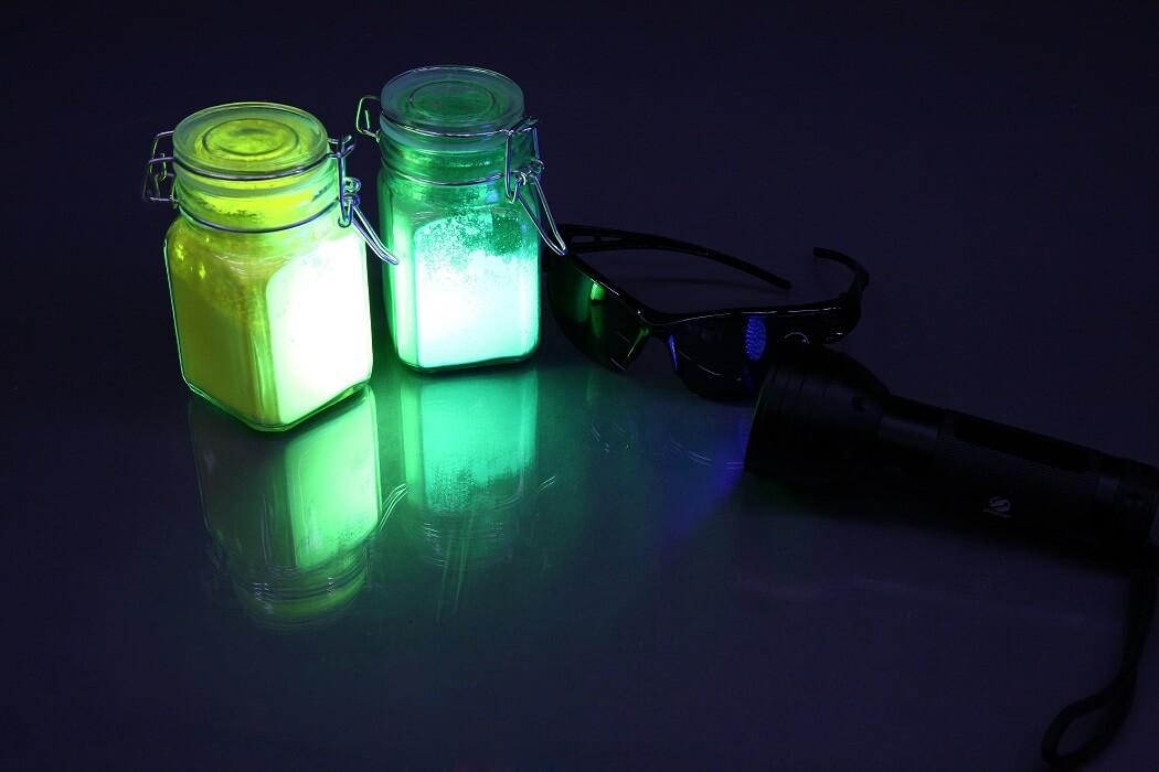 Светящийся порошок для испытания фильтров