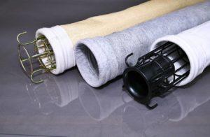 Рукавные фильтры с каркасами для металлургической промышленности