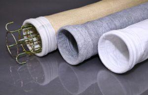 Рукавный фильтр с каркасом для пылеудаления