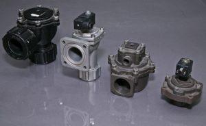 Пневмокомпоненты фильтров для металлургической промышленности